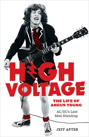 Cover image for High Voltage: The Life of Angus Young – AC/DC's Last Man Standing by Jeff Apter