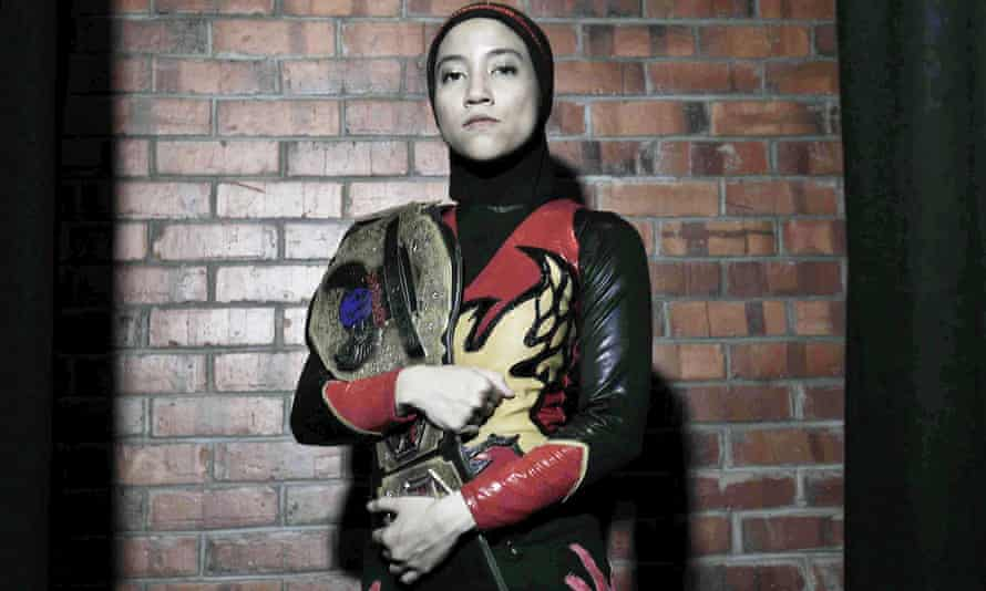 Nor Diana after a bout in Kuala Lumpur.