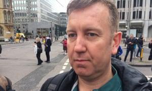 Matt Haikin, 44. Westminster attack eyewitness