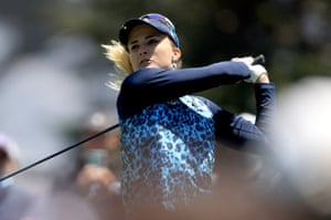 Lexi Thompson in action.