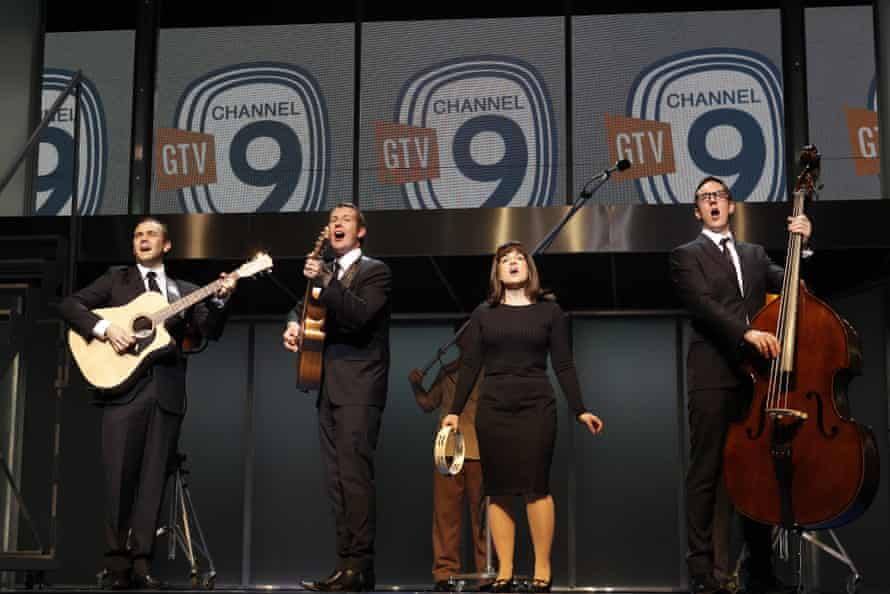 The cast of Georgy Girl - The Seekers Musical