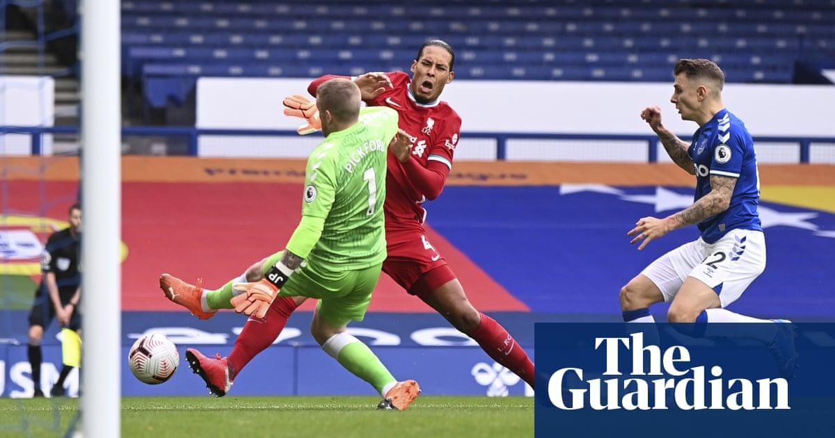 Jordan Pickford avoids disciplinary action for Virgil van Dijk challenge