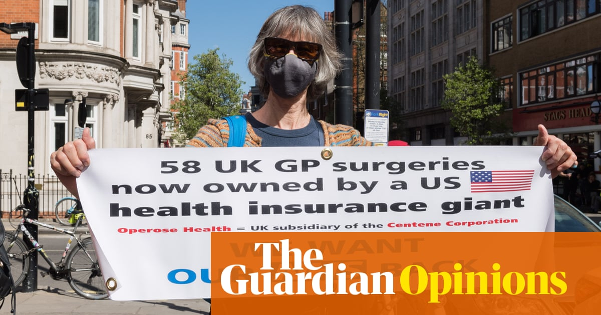 The NHS is being privatised by stealth under the cover of a pandemic