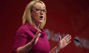 Rebecca Long-Bailey at last year's Labour party conference