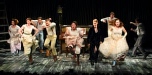 The new 'ground-up' production of Into the Woods, at London's Menier Chocolate Factory.