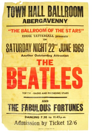 The Beatles poster up for auction