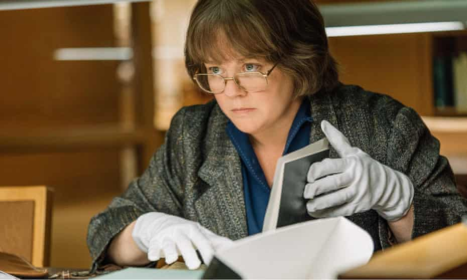 Melissa McCarthy as Lee Israel in Can You Ever Forgive Me?