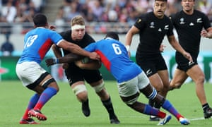 Rugby World Cup, New Zealand v Namibia