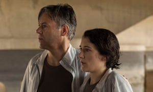Intelligent and committed performances … Rupert Graves and Ellie Kendrick in Native.