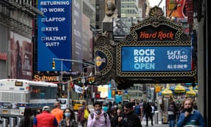 The Hard Rock Cafe in New York City this week