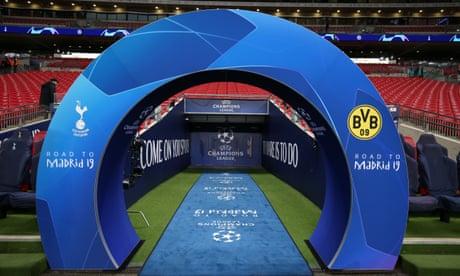 Tottenham Hotspur v Borussia Dortmund: Champions League – live!