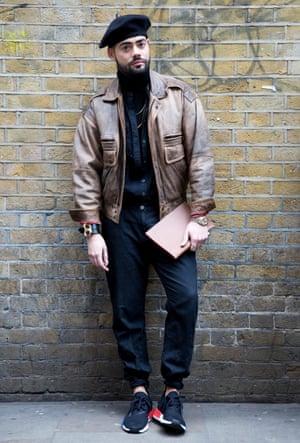 Paolo Casseb, stylist at Selfridges