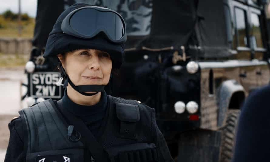 Rebecca Front as UNIT commando Walsh.