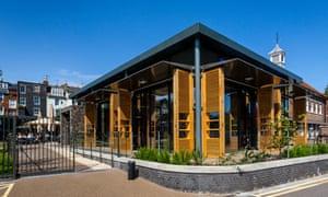 Exterior The Depot, Independent Cinema and Cafe/Bar Restaurant, Lewes