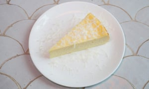 'Manchego is rarely the answer': a gluten-free manchego cheesecake in search of a base.