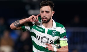 Bruno Fernandes keeps up to speed with the transfer latest via Bluetooth.