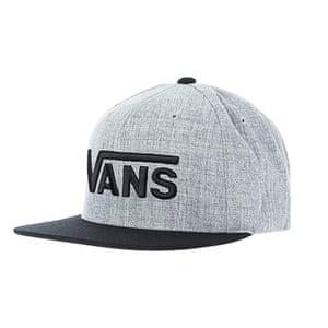 Grey vans cap from zalando