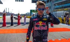 Daniil Kvyat took the four-times world champion Sebastian Vettel out of the Russian Grand Prix.
