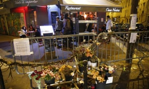 The Casa Nostra restaurant was targeted by terrorists in November.