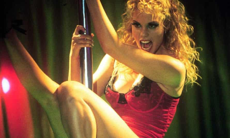 Elizabeth Berkley in Showgirls.