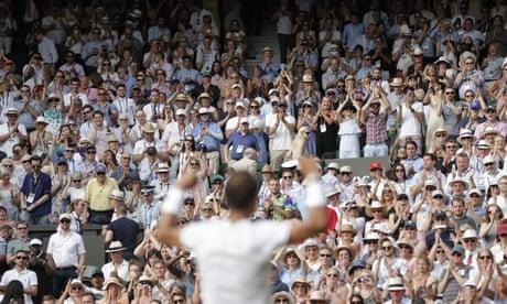 Rich tennis fans vie for five-year, £100,000 Centre Court tickets