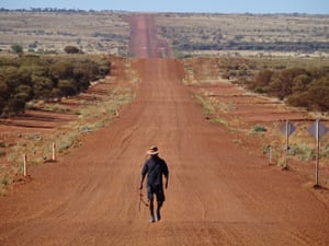 Clinton Pryor's Walk for Justice took him across Australia from Perth to Canberra.