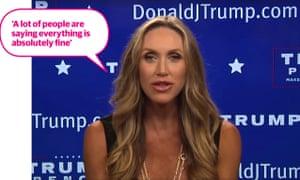 Lara Trump tells it as it is.