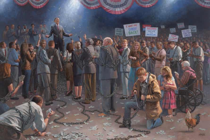 Wake Up America, by Jon McNaughton.