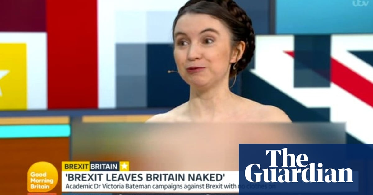 Could debating naked really solve Britain's Brexit woes?