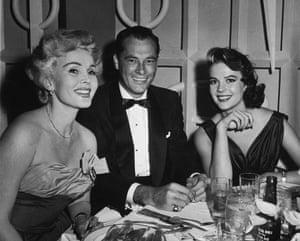 Zsa Zsa Gabor, Conrad Hilton and Natalie Wood.
