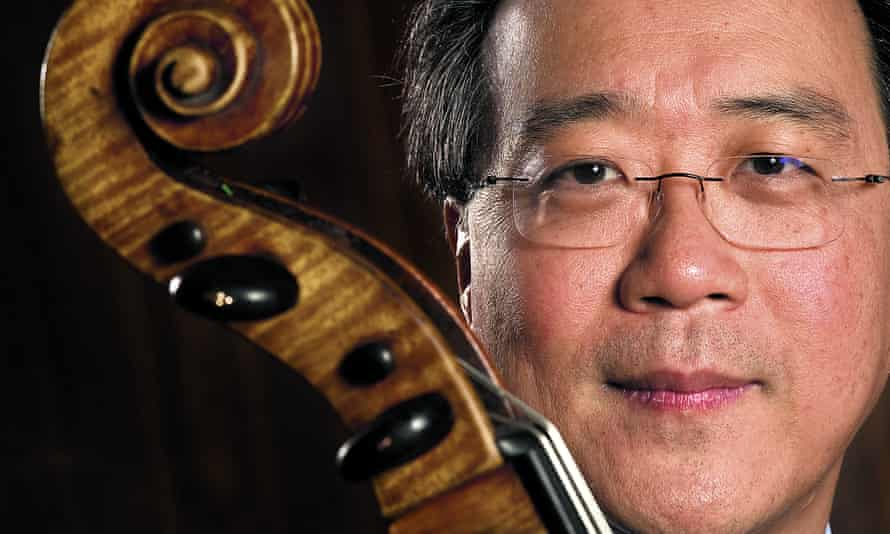 'I don't feel the most talented or the most <em>anything</em>' … Yo-Yo Ma.