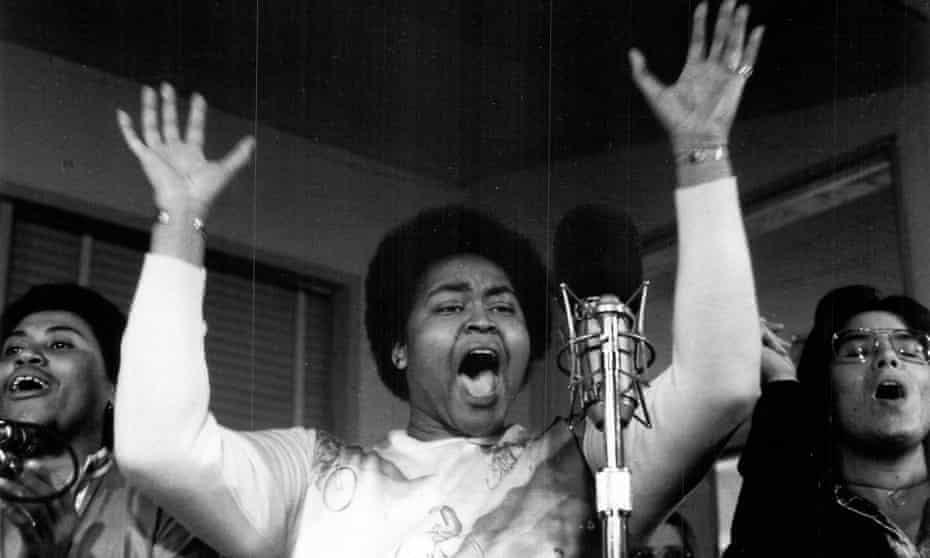'Should I love a woman?' … Linda Tillery, one of the groundbreaking Californian feminists, in 1972.