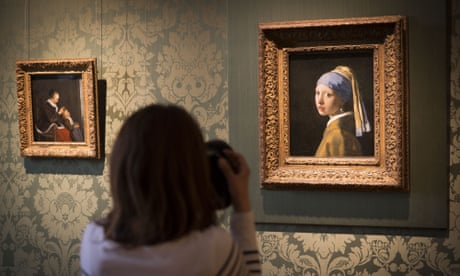 Vermeer got up to his own painting 'tricks'