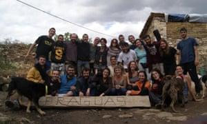 Fraguas village rebuilding