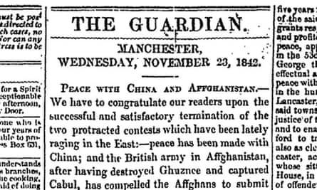 Manchester Guardian, 23 November, 1842