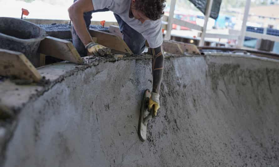 None of the Kaarikoirat members had any construction experience when they built their first skatepark.