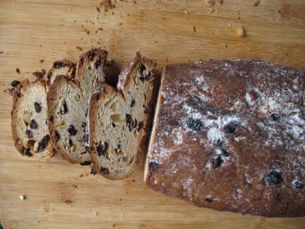 Plain flour and vanilla in A Sausage Has Two's stollen.