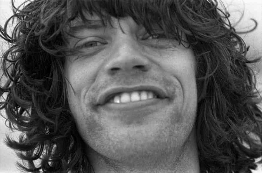 Jagger smiling