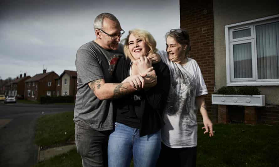 Trevor, Tamsyn and Tracey from Skint Britain: Friends Without Benefits.