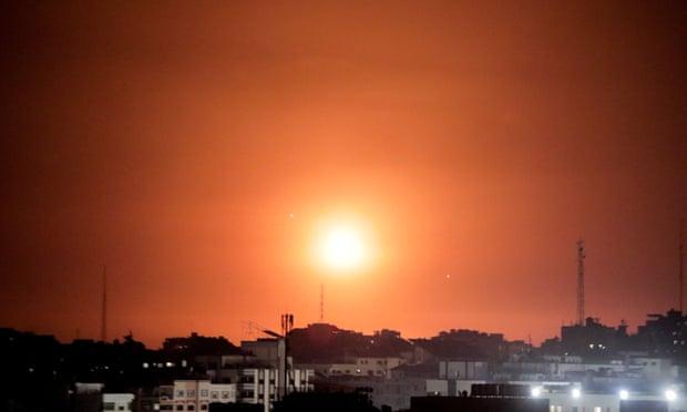 Twenty-four dead in Gaza after Jerusalem violence spreads,harbouchanews