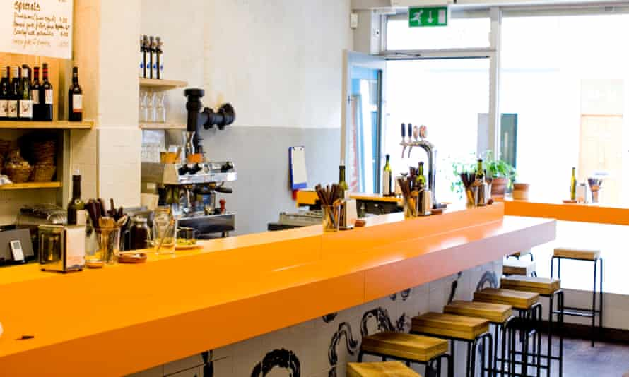 Morito tapas bar, north London.