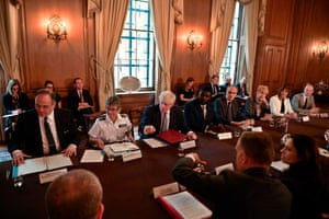 London, UK Boris Johnson addresses a roundtable at No 10 on the criminal justice system