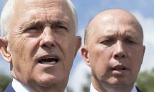 The prime minister, Malcolm Turnbull, has tried to clear up a public difference of opinion between him and the home affairs minister, Peter Dutton, on migration number talks.