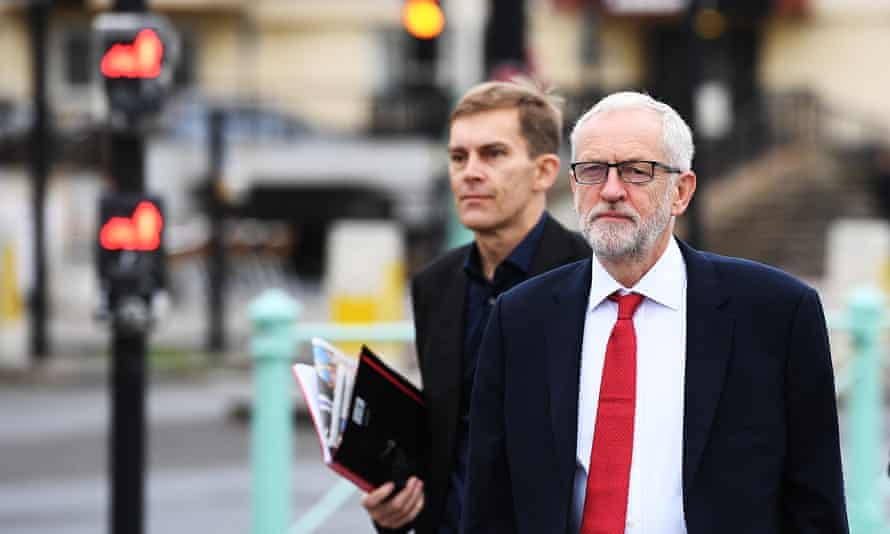 Jeremy Corbyn and Seumas Milne.