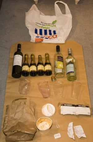 Evidence found in Worboys' Fiat Punto.