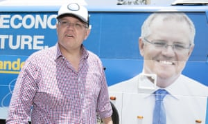 Scott Morrison and his bus
