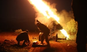 Fighters from the anti-regime Syrian Islamic Front attack airports in Aleppo to block the delivery of ammunition to forces loyal to the Syrian government.