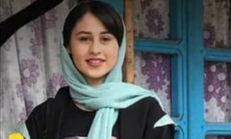 Romina Ashrafi: outcry in Iran over so-called 'honour killing' of 14-year-old girl