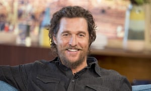 'We don't have a choice' but to accept Trump … Matthew McConaughey.
