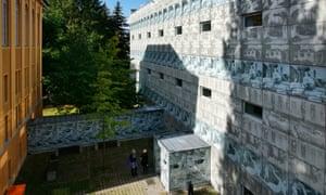 Eberswalde technical school library, Germany.